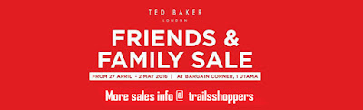 Ted Baker Friends & Family Sale