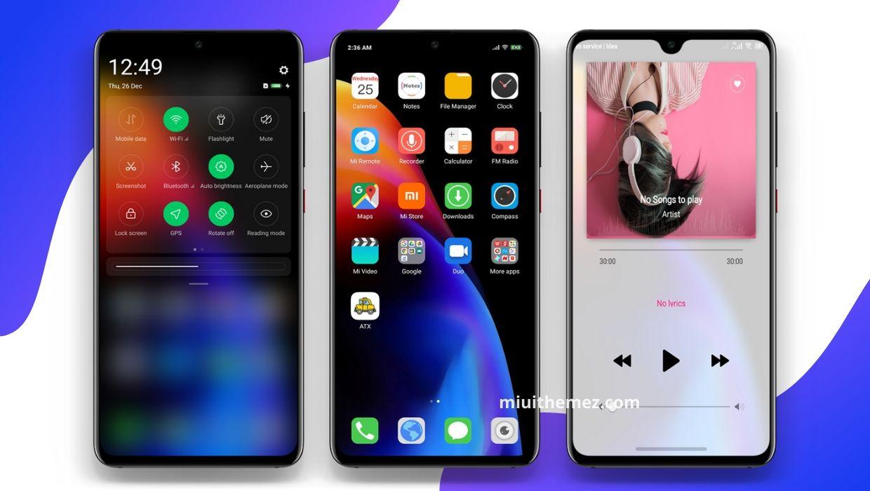 iOS Mi DWM4 Theme | A Fully iOS Designed Mi Theme
