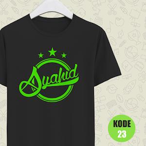 Kaos Muslim Syahid
