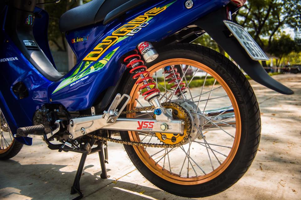 Modifikasi Honda Supra X 100 Minimalis  Trendy Thailook