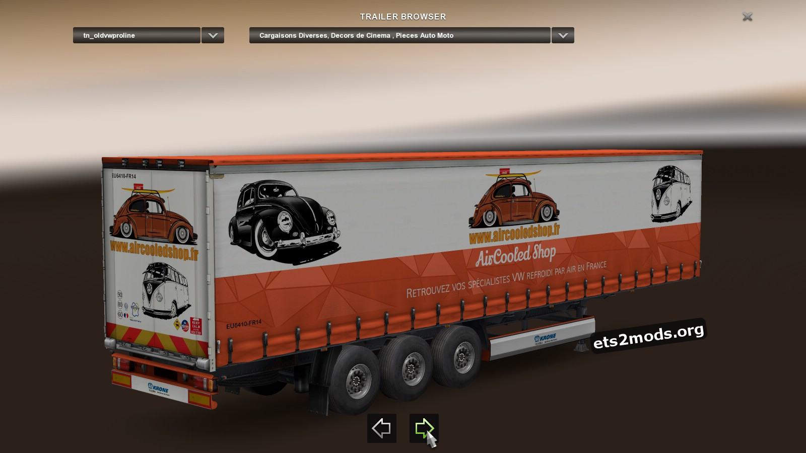 Trailer Pack made by Philippe McS (Black Diavel)