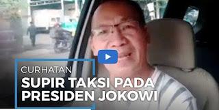 Cicilan Masih Memberatkan, Sopir Taksi Online Ini Mengadu ke Jokowi Lewat Video sambil Menangis