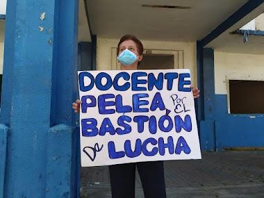 La comunidad educativa y gremios docentes exigen la construcción de la Escuela República de Venezuela