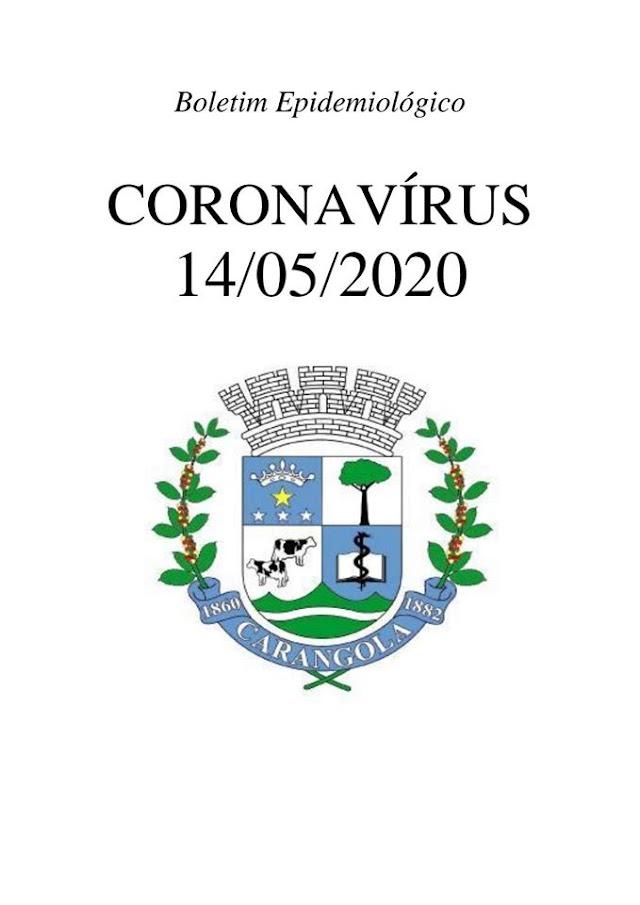 Carangola tem 20 casos confirmados de Coronavírus