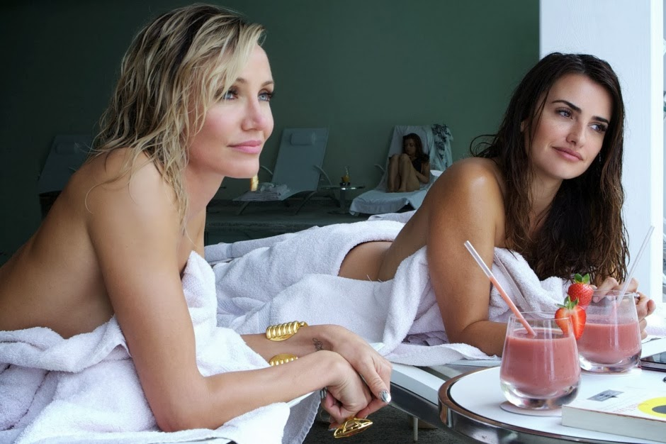 Cameron Diaz as Malkina and Penélope Cruz as Laura in The Counselor (2013), Directed by Ridley Scott