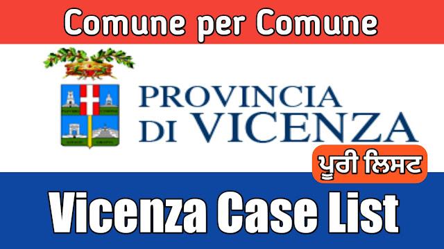 Comune de hisab nal Vicenza di list 29/03/2020
