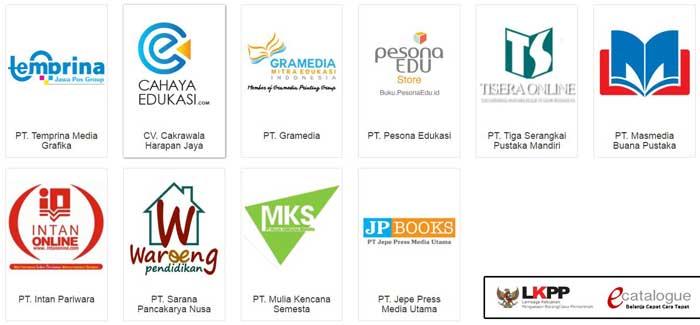 Daftar Situs Toko Online Penyedia Buku Kurikulum 2013 Tahun 2016/2017 dan Cara Pemesanan