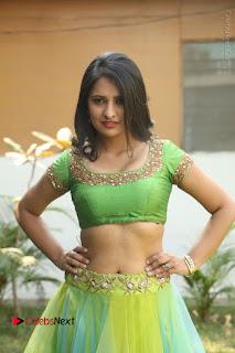 Actress Nikitha Bisht Stills in Lehenga Choli at Pochampally Ikat Art Mela Launch  0248.JPG