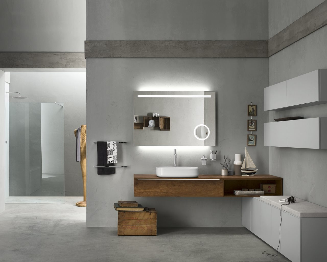 Inda, arredo a 360 gradi per il bagno - Coffee Break | The Italian ...