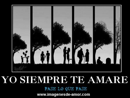 Te amare para siempre