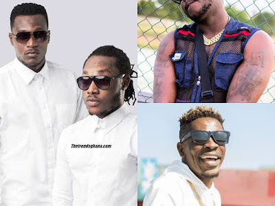 This duo made this comment, when they were in an interview on Kingdom+FM with an interview with Fiifi Pratt, following recent claims by Shatta Wale on his social media handles that, he is the rich artiste in Ghana, backing his claims with images of his wealth, so he can be considered the richest.