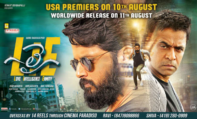 LIE Movie Censor Completed and Gets U/A Certificate
