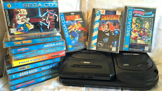 SEGA CD BIOS + Bonus Game