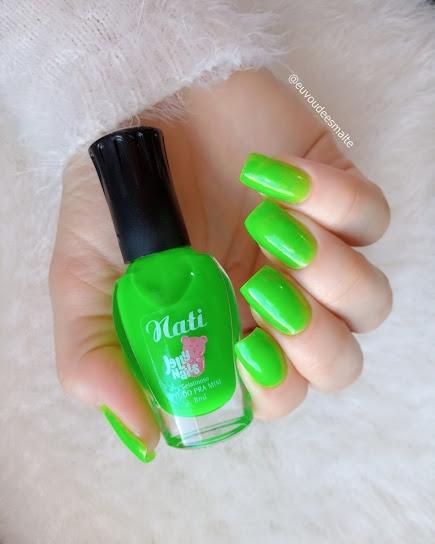 Esmalte Tudo pra Mim Jelly Nails - Nati Cosmetica
