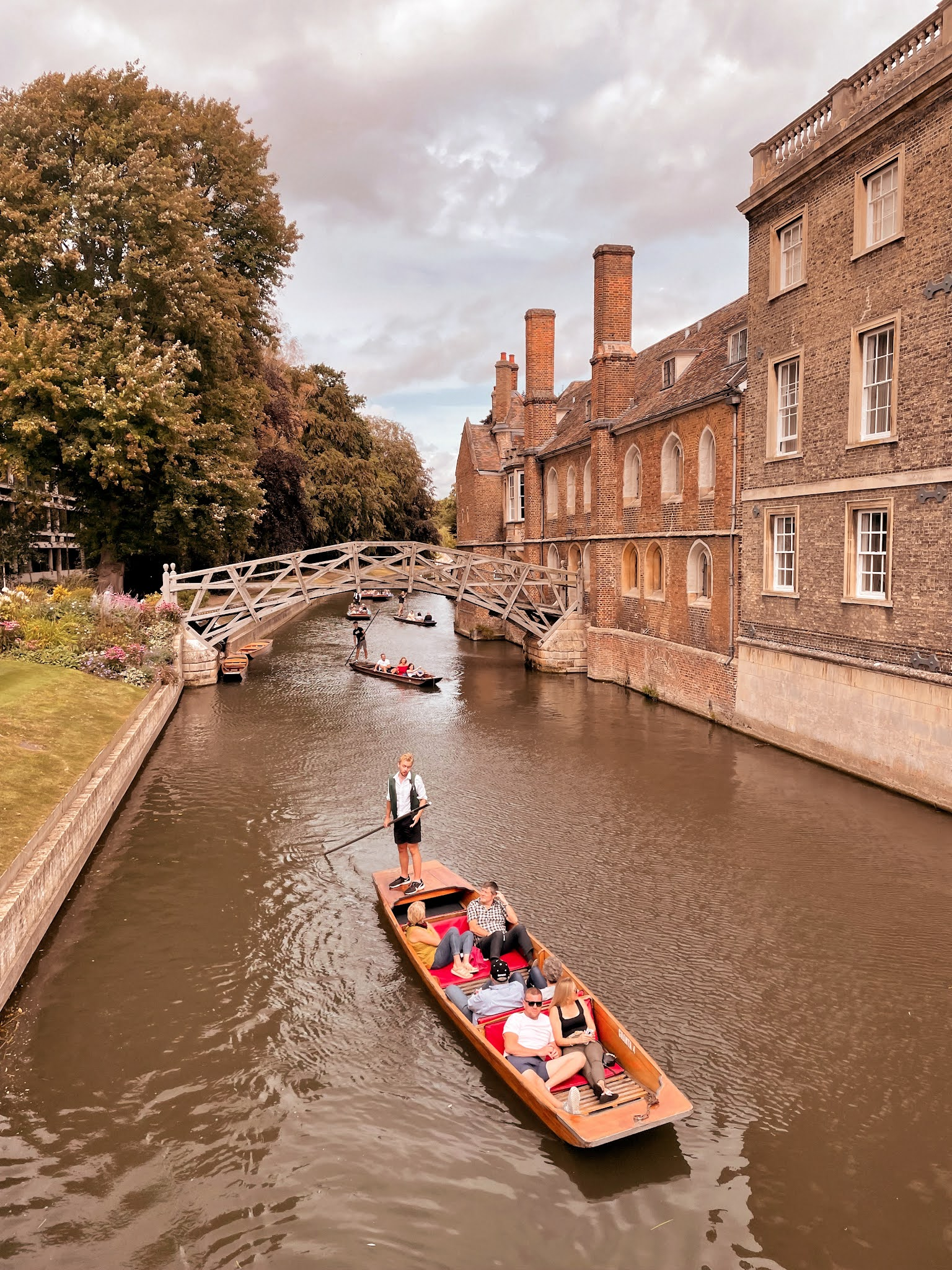 Cambridge River Punting