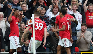 Manchester United Bantai Chelsea 4-0 Highlights
