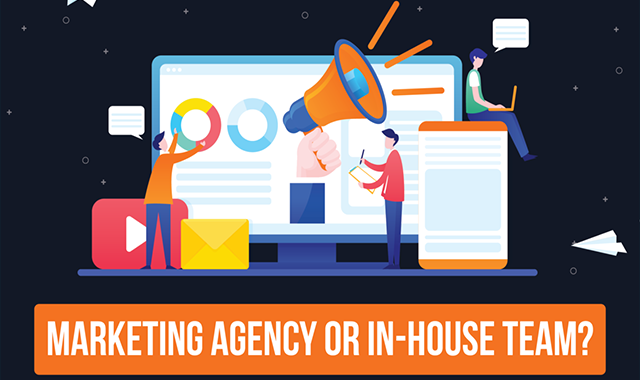 Digital Agency or in-house Team? Which is Right for Your Marketing Needs? #infographic