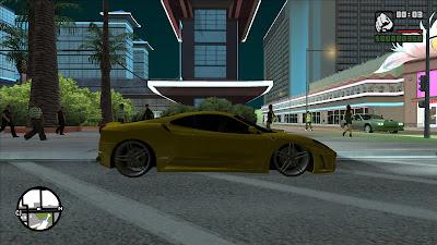 GTA San Andreas Ferrari F430 34 VUH 58