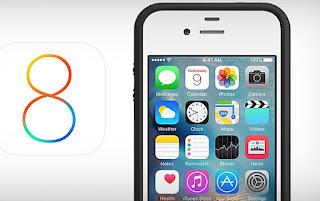 نظام آي أو إس 8 iOS