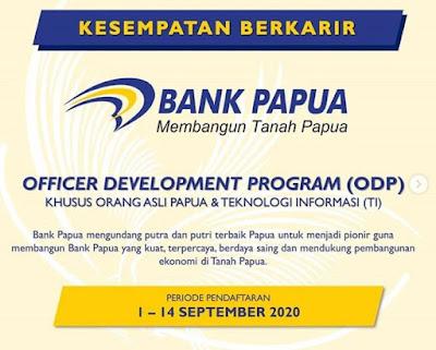 Lowongan Kerja Bank Papua