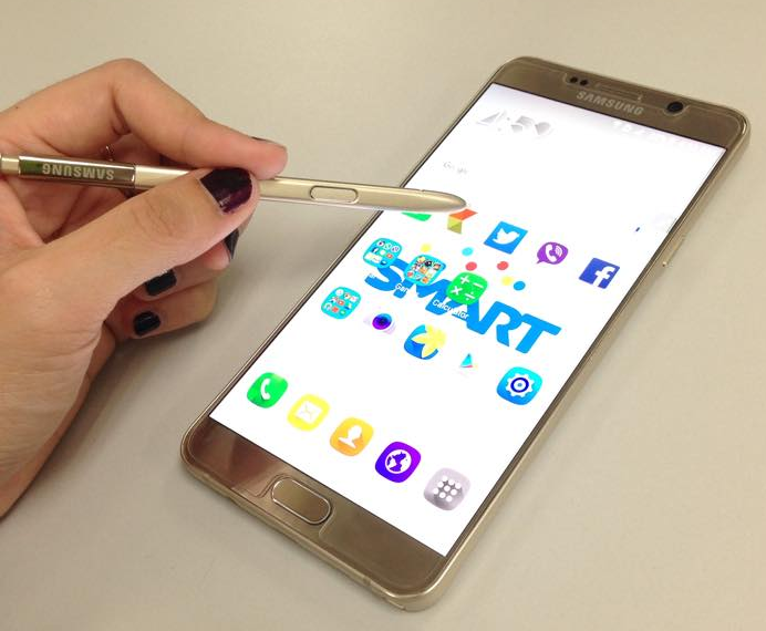 Samsung Galaxy Note5 Philippines, Smart Samsung Galaxy Note5