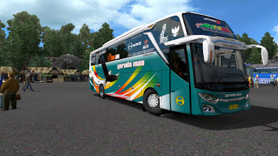 15 Livery AKAP Mod Jetbus 3 RK8 M.Annas Cvt Diny - Garuda Mas