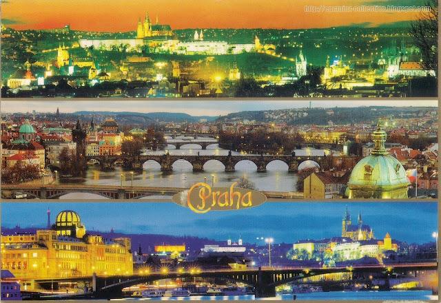 Postcard from Czech Republic | The City of Prague (Praha)