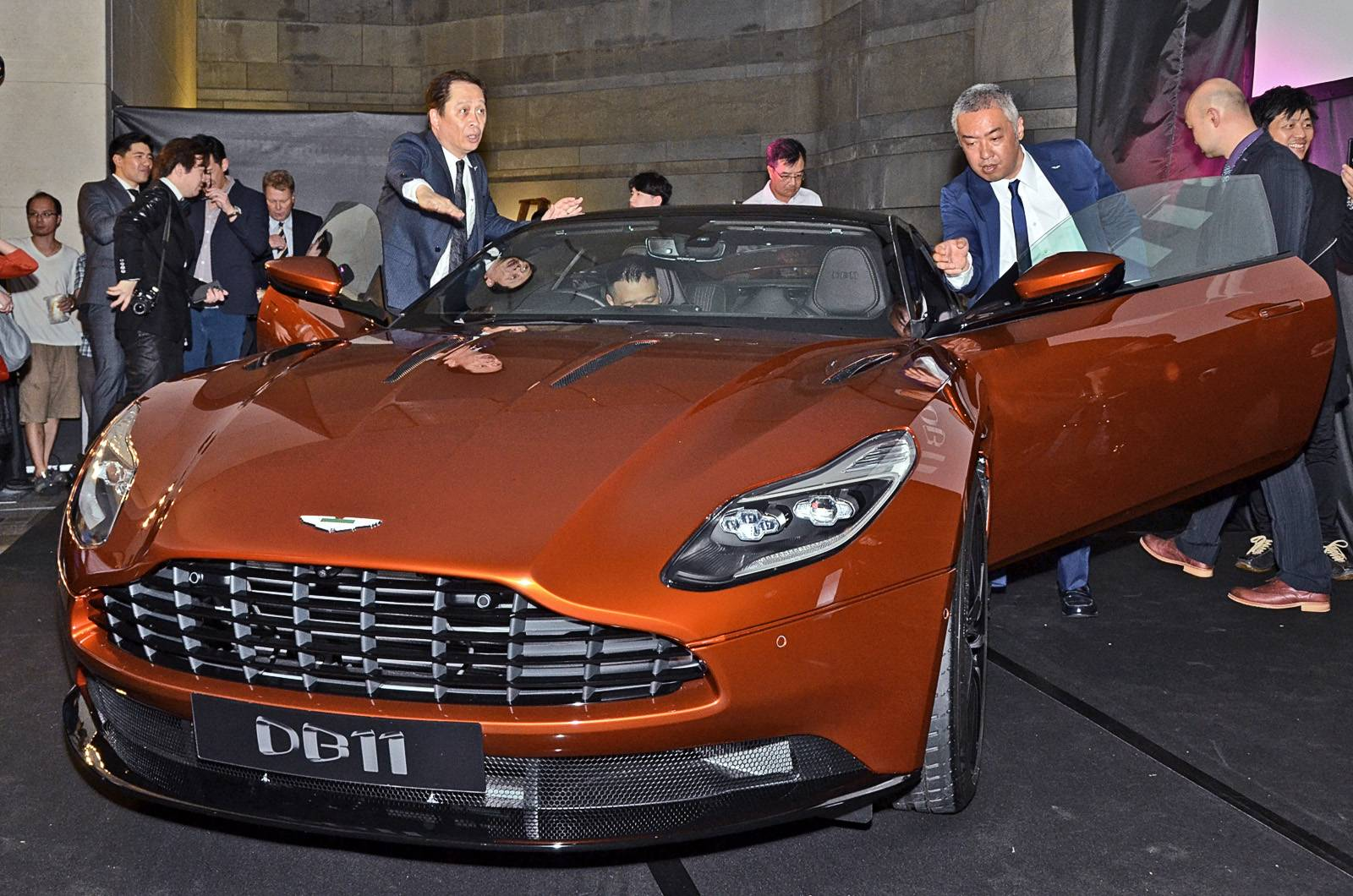 Siêu phẩm Aston Martin DB11