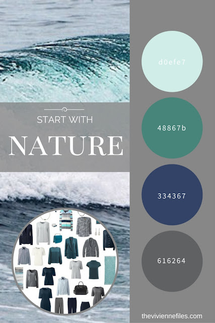 Can a Corporate Wardrobe have Personality? Start With Nature! An Ocean Photograph by LBToma