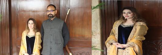 """*प्रसिद्ध पंजाबी गायिका मेघा चोपड़ा अपने आगामी गीत """"लोहड़ी औंदी लोहड़ी"""" के प्रचार के लिए दिल्ली पहुंचीं*"""
