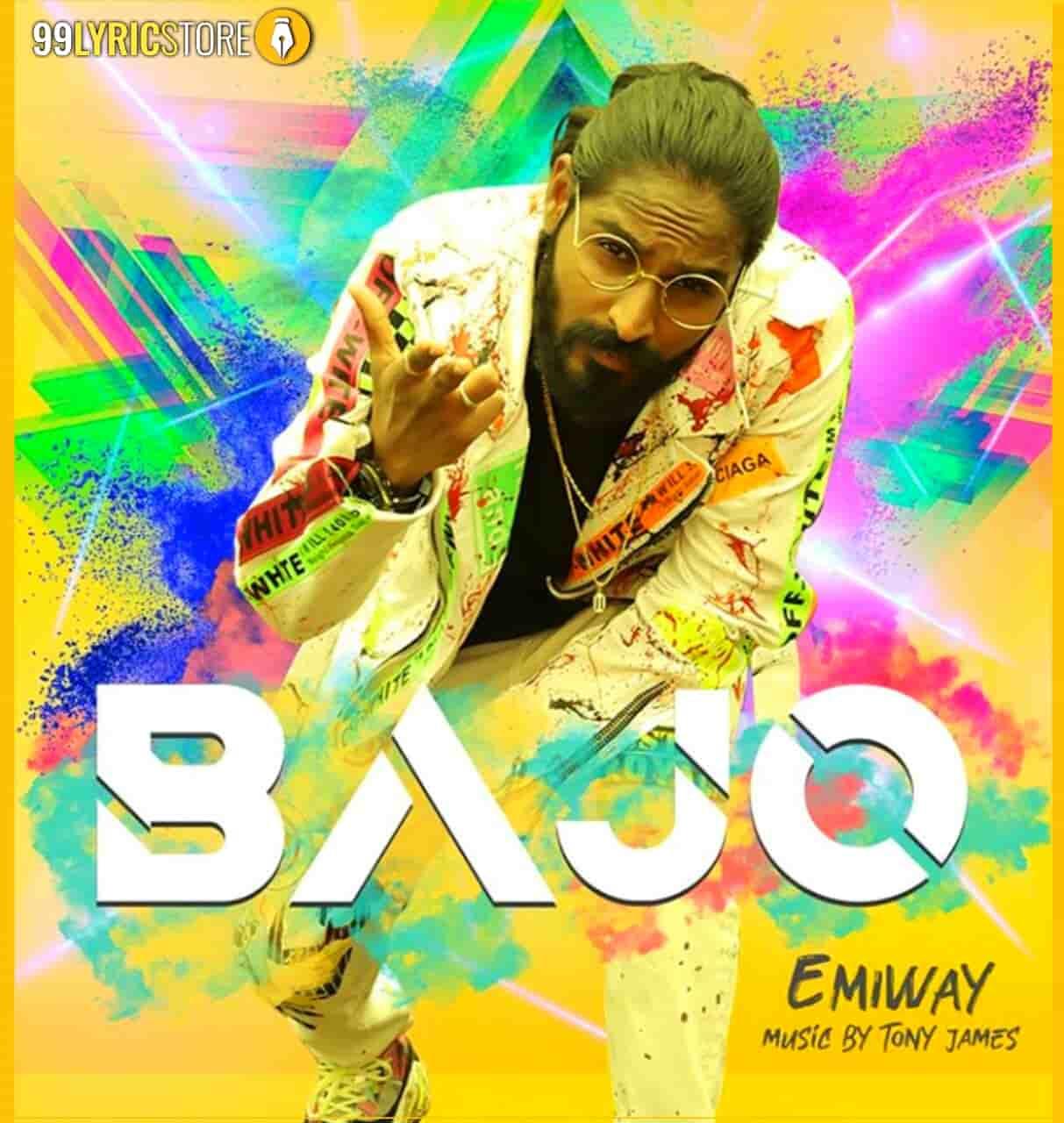 Bajo Rap Song sung by Emiway Bantai