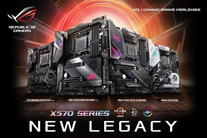 ASUS Reveals Full Lineup of X570 Motherboards | Pricing and Availability Included