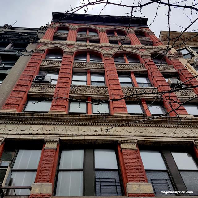 Fachada do Hotel Chelsea, Rua 23, Nova York