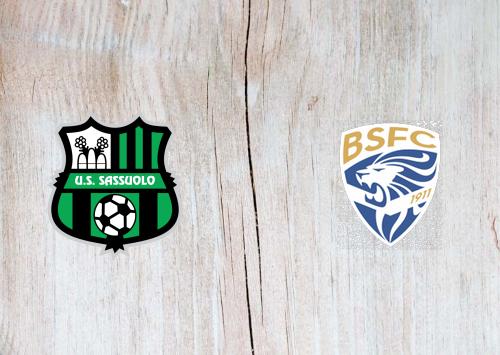Sassuolo vs Brescia -Highlights 9 March 2020