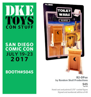 San Diego Comic-Con 2017 Exclusive R2-Dpoo Star Wars Resin Figure by Random Skull Productions x DKE Toys