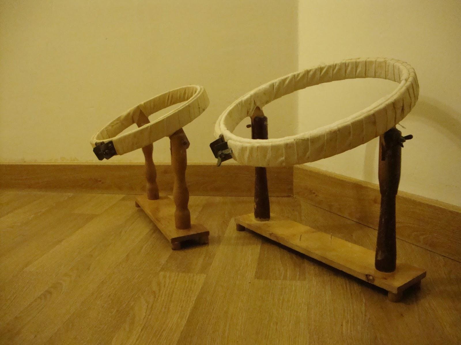 Reutilizar un bastidor de bordar como macetero handbox - Bastidores para bordar ...