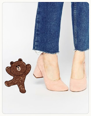 Simone heels, $56.61 from asos