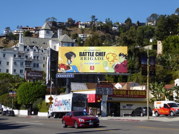 Battle Chef Brigade Holiday 2017 billboard