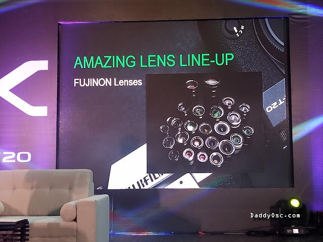 Fujifilm X-T20 Lenses