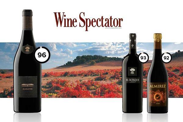 Wine Spectator otorga 96 puntos a Alabaster 2014