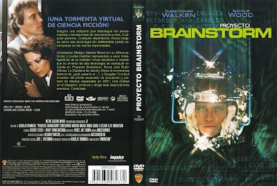Carátula dvd: Proyecto Brainstorm (1983)