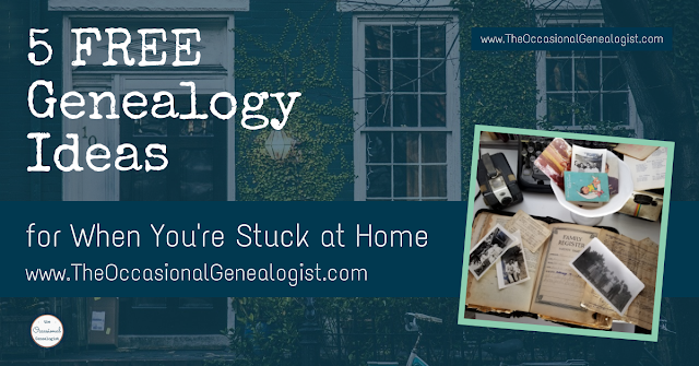 5 Free Genealogy Ideas