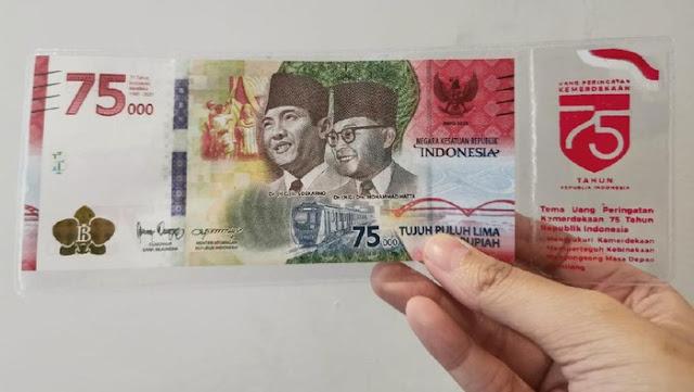 Jakarta PSBB Lagi, Penukaran Uang Rp 75.000 Jalan Terus