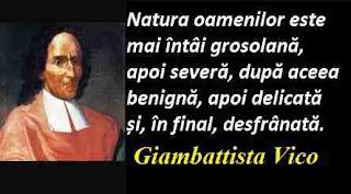 Maxima zilei: 23 iunie - Giambattista Vico