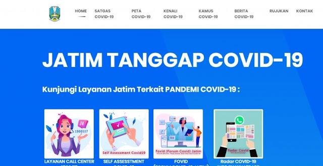Hindari Hoax Corona, Masyarakat Diimbau Akses infocovid19.jatimprov.go.id
