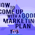 How To Create a Good Marketing Plan for 2020 #infographic