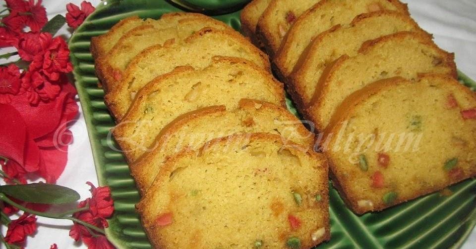 Erivum Puliyum Tutty Fruity Cake Wheat Flour