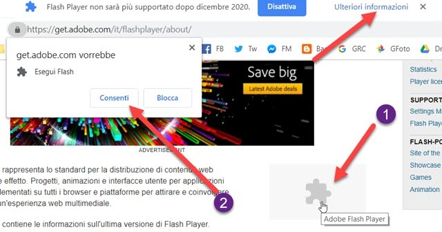 Come attivare Adobe Flash Player | Salvatore Aranzulla