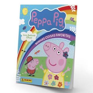 Livro Ilustrado Oficial Peppa Pig, você encontra na Banca Vanildo
