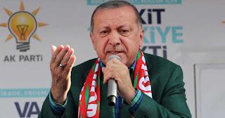 Ερντογάν κατά της Ελλάδας: «Είναι τελειωμένη και χρεοκοπημένη χώρα με χάλια δρόμους»